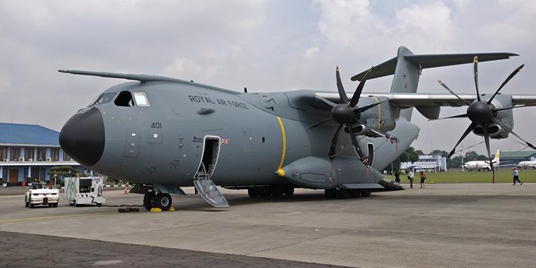 Status Pembelian Belum Pasti, A400M Dipajang Airbus Di Jakarta