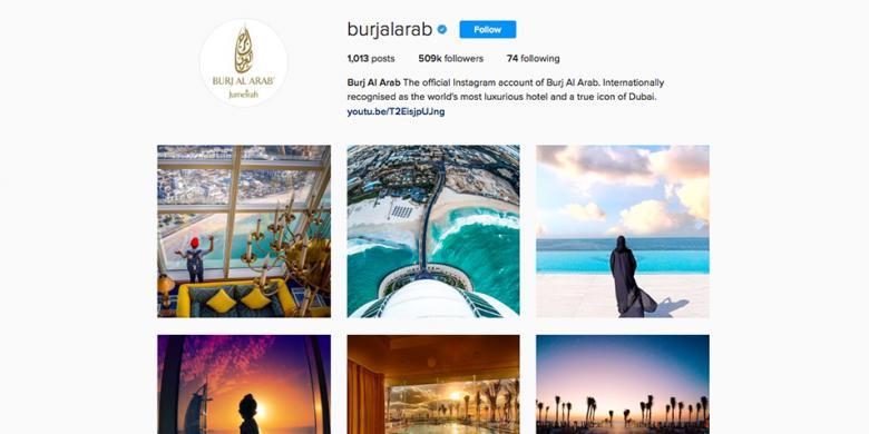 INSTAGRAM- Burj Al Arab