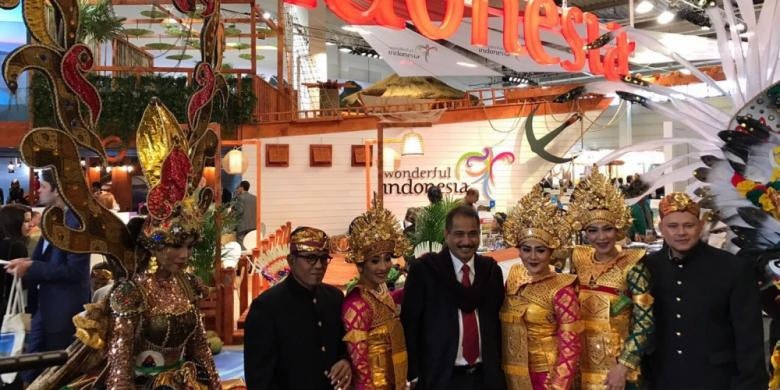 "Tarian Nusantara Jadi Magnet Paviliun ""Wonderful Indonesia"" Di ITB Berlin"