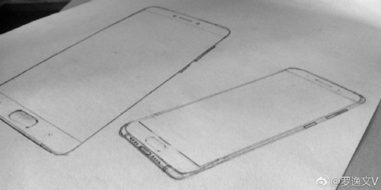Bocoran Sketsa Ungkap Bentuk Xiaomi Mi 6