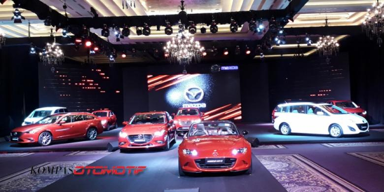 Agresivitas Mazda-Eurokars Dengan 5 Model Baru
