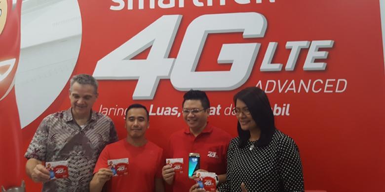 Smartfren Rilis Kartu Perdana 4G GSM Plus