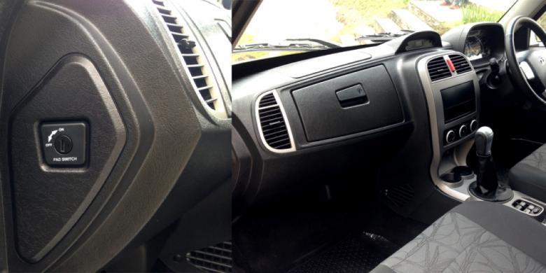 """Airbag"" Tata Xenon XT Bisa Dionaktifkan"