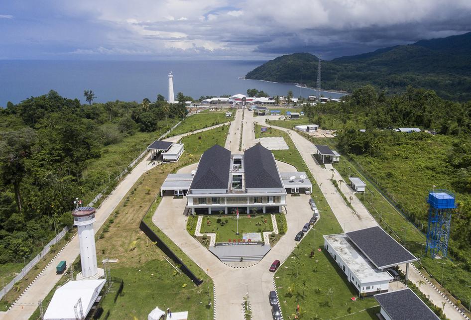 Pos Lintas Batas Negara Terpadu Skouw di Jayapura