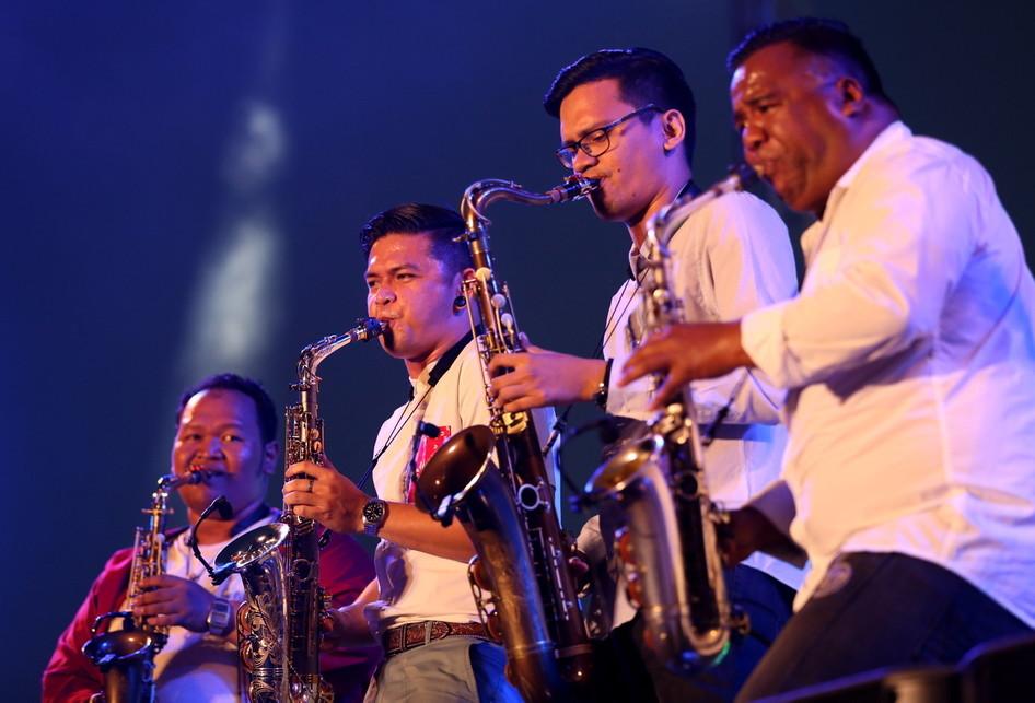 Prambanan Jazz Festival 2017 Saxx In The City