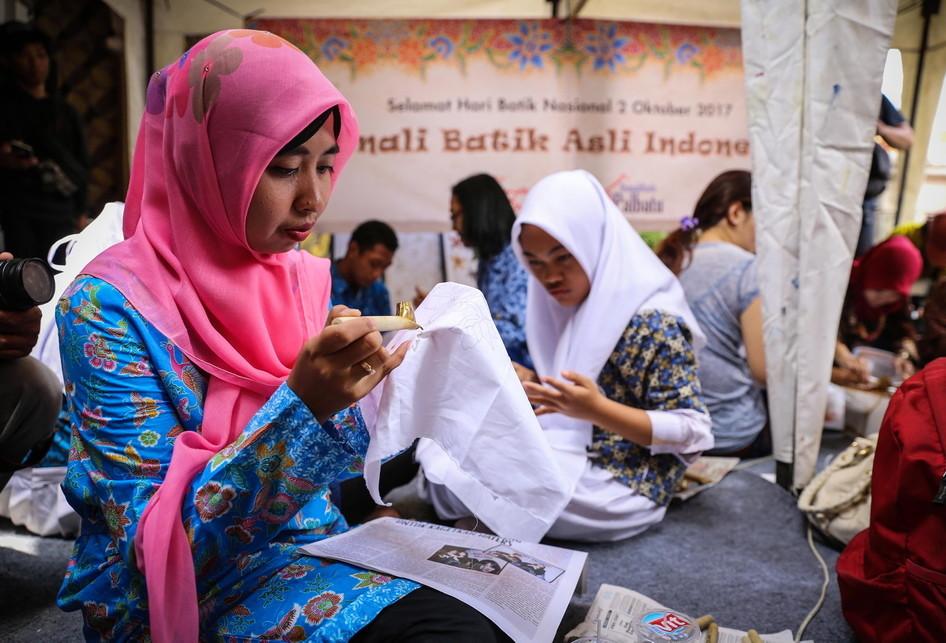 Penyandang Disabilitas Rumah Batik Palbatu