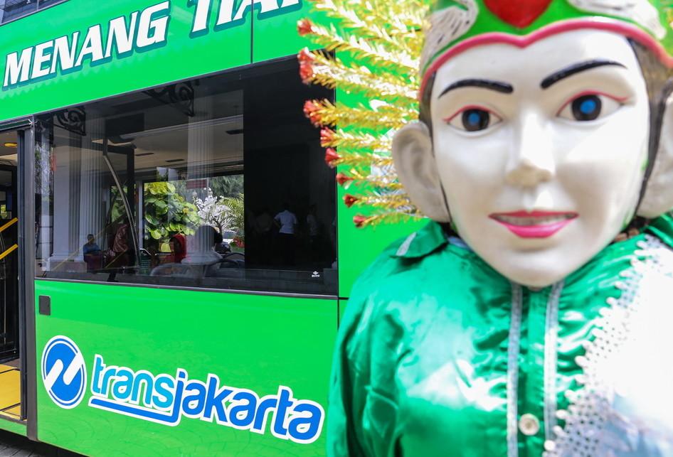 Djarot Saiful Hidayat Bus Tingkat pariwisata DKI Jakarta