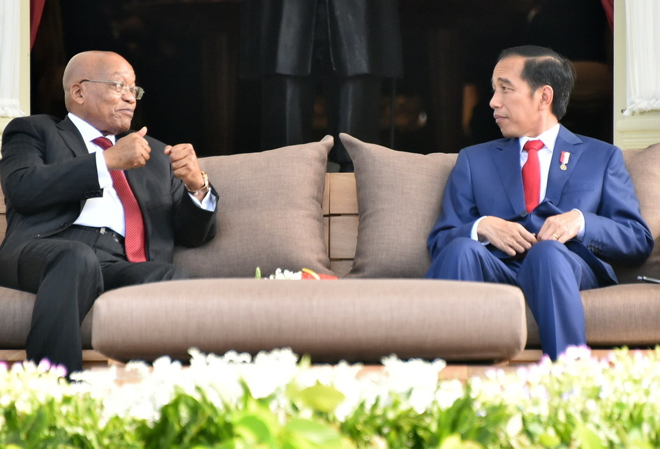 INDONESIA-SOUTH AFRICA-DIPLOMACY