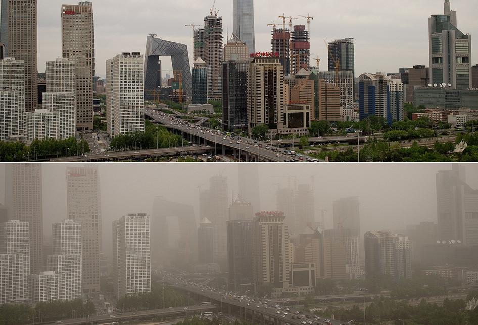 Badai Pasir di China