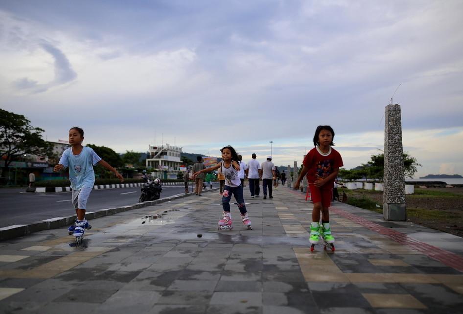 Taman IORA di Pantai Purus Padang