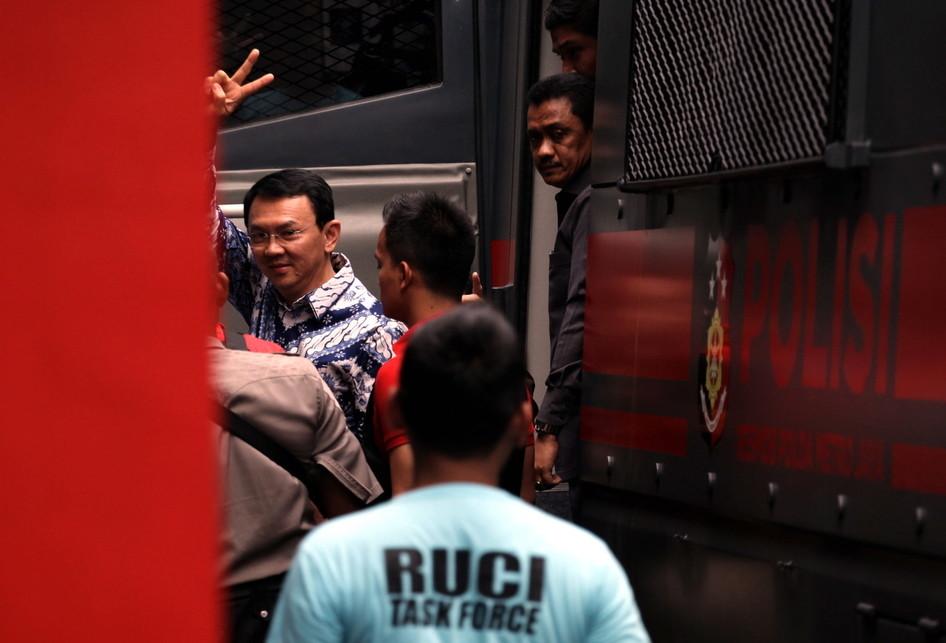 Ahok Langsung Ditahan di Rutan Cipinang