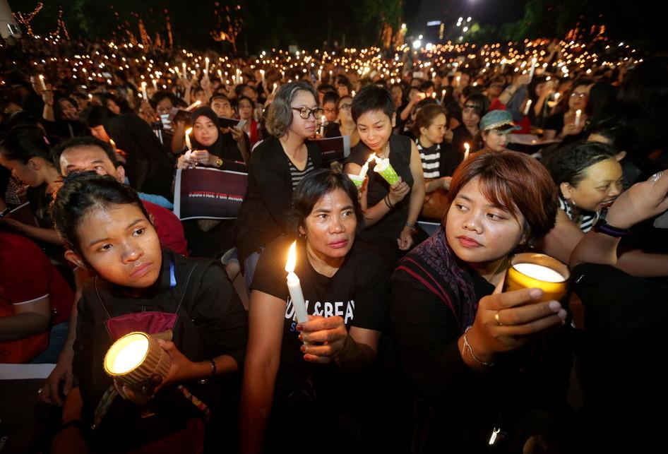 Malam Solidaritas Matinya Keadilan