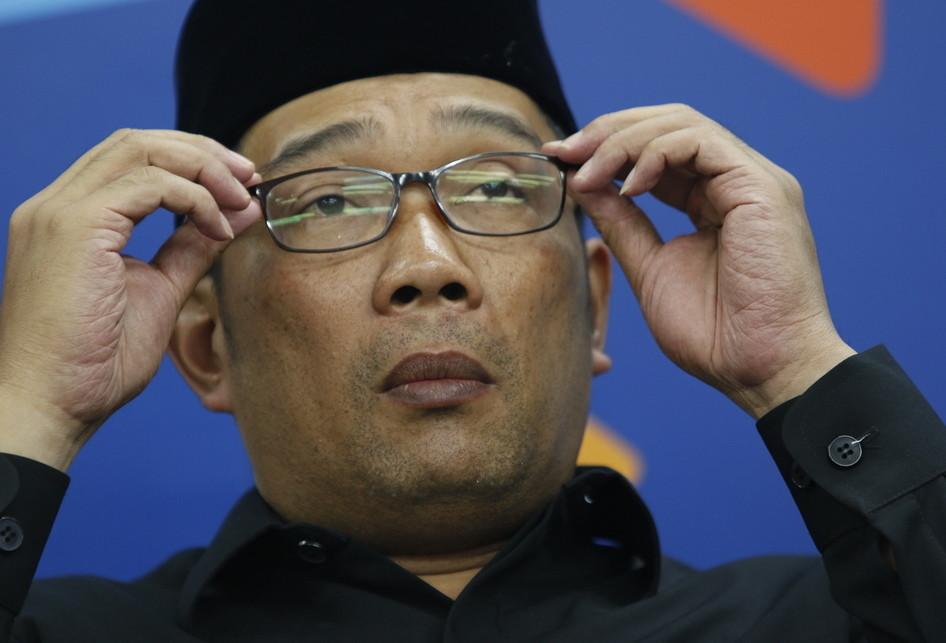 Wali Kota Bandung M Ridwan Kamil