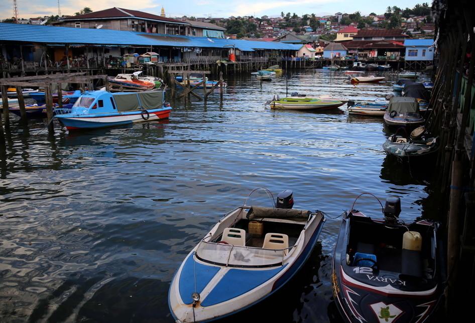 Kampung Atas Air Balikpapan