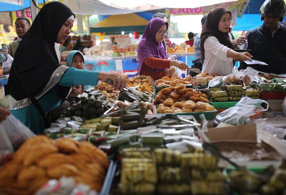 Pasar Takjil Benhil Ramadhan 2017
