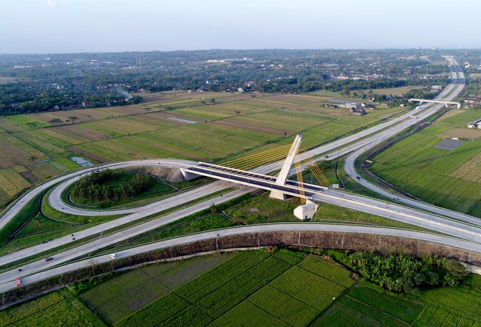 Jembatan Klodran Tol Solo-Ngawi-Kertosono Mudik 2017