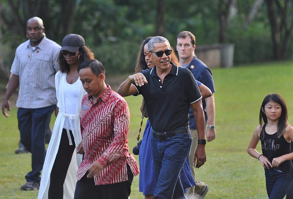 INDONESIA-OBAMA-TRAVEL