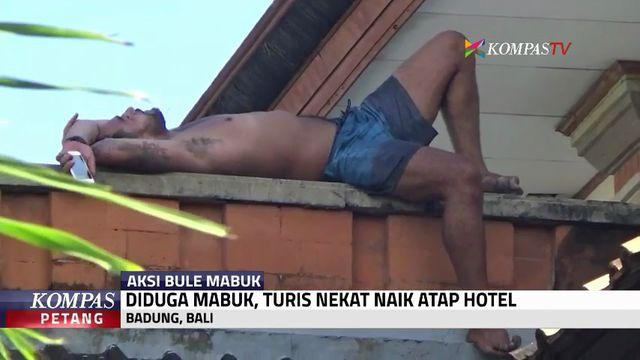 WNA Mabuk Bikin Ulah di Bali