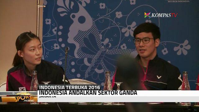 Sektor Ganda Jadi Andalan di Indonesia Terbuka 2016