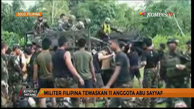 Militer Filipina Tewaskan 11 Anggota Abu Sayyaf