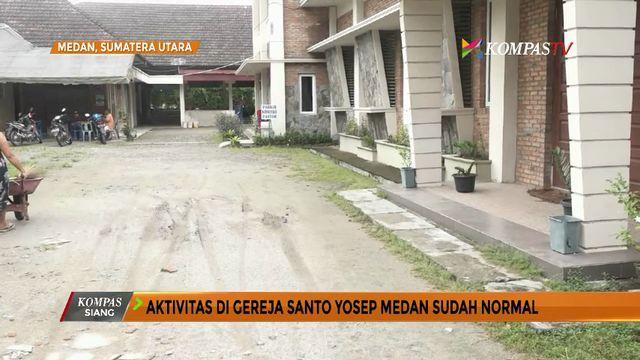 Aktivitas di Gereja Santo Yosep Medan Kembali Normal