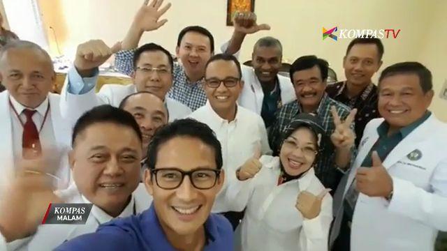 """Sandiaga """"Video Selfie"""" Bareng Para Cagub-Cawagub DKI 2017"""