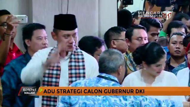Adu Strategi Calon Gubernur DKI Jakarta