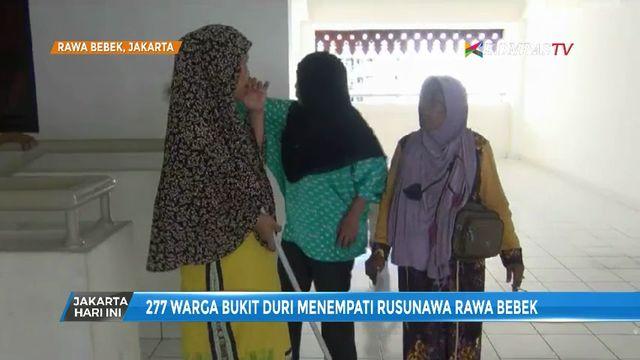 227 Warga Bukit Duri Tempati Rusun Rawa Bebek