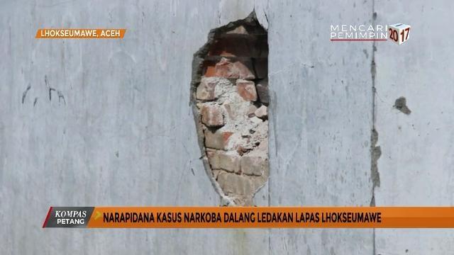 Kronologi Ledakan di Lapas Lhokseumawe