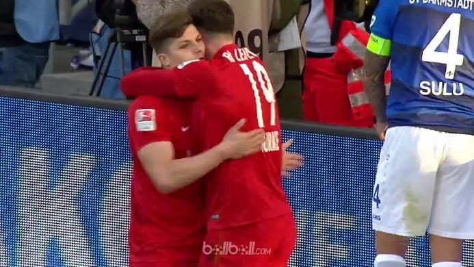 Darmstadt 98 0-2 Leipzig