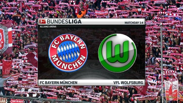 Bayern Muenchen 5-0 Vfl Wolfsburg: Mueller Akhiri Paceklik Gol