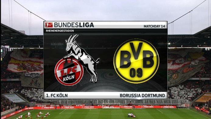 FC Koeln 1-1 Borussia Dortmund: Tertahan