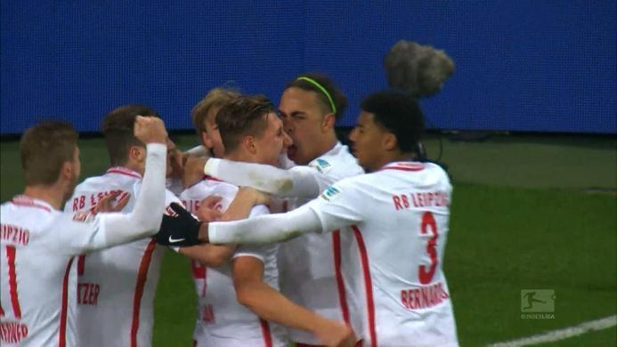 RB Leipzig 2-0 Hertha Berlin: Tempel Bayern