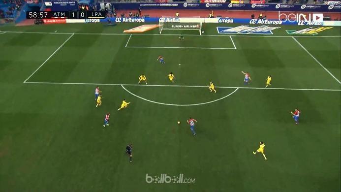 Atletico 1-0 Las Palmas: Stop Tren Negatif