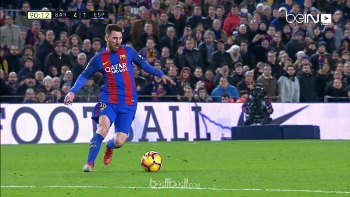 Barcelona 4-1 Espanyol: Penutup Manis
