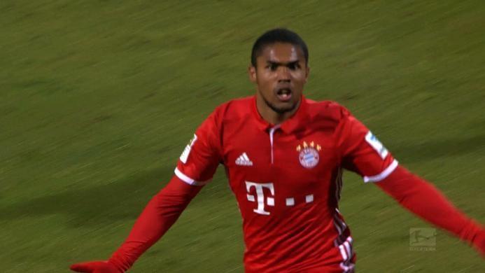 Darmstadt 0-1 Bayern Muenchen: Gol Spektakuler Costa