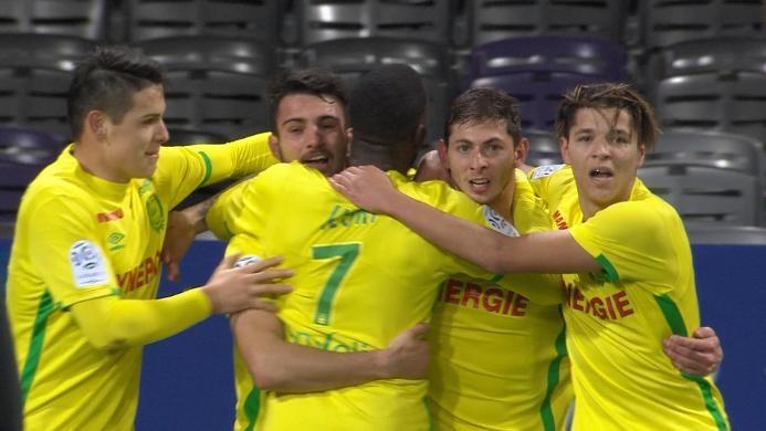 Toulouse 0-1 Nantes: Gol Tunggal Sala