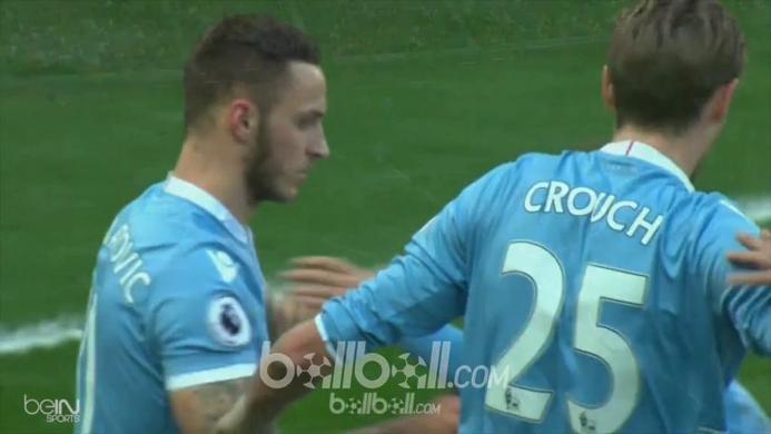 Sunderland 1-3 Stoke City: Crouch Kembali Cetak Gol