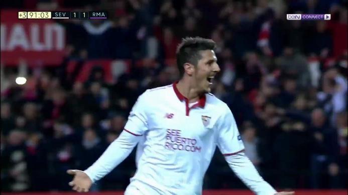 Sevilla 2-1 Real Madrid: Terhenti di Angka 40