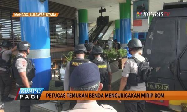 Petugas Temukan Benda Mencurigakan Mirip Bom