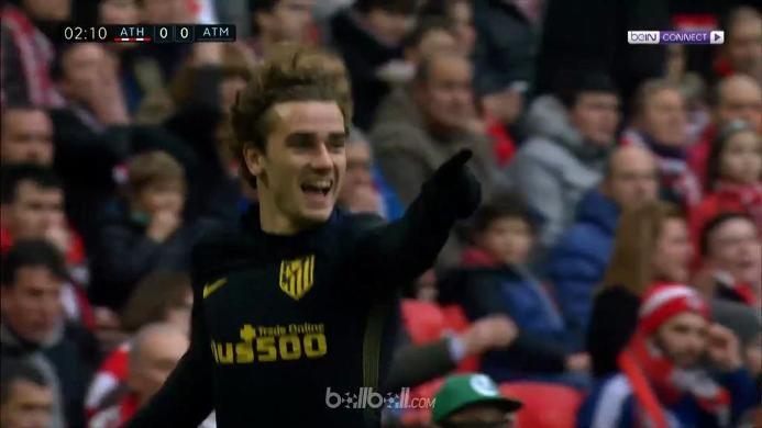 Athletic Bilbao 2-2 Atletico: Griezmann Jadi Penyelamat