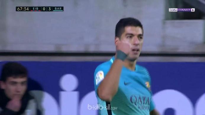 Eibar 0-4 Barcelona: MSN Kembali Cetak Gol Bareng