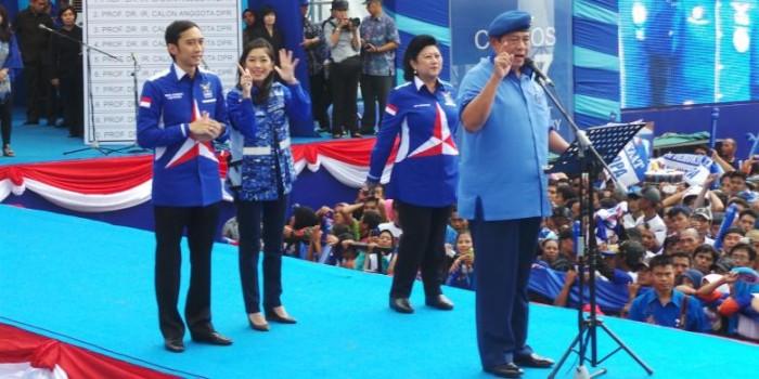 Kata Ibas, SBY Akan Terpilih secara Aklamasi di Kongres Partai Demokrat