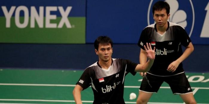 Hendra/Ahsan Tunggu Lawan di Final