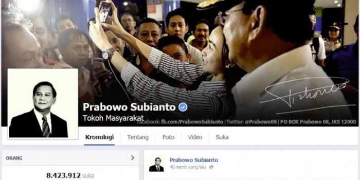 Melalui Facebook, Prabowo Nyatakan Sikapnya soal Putusan MK