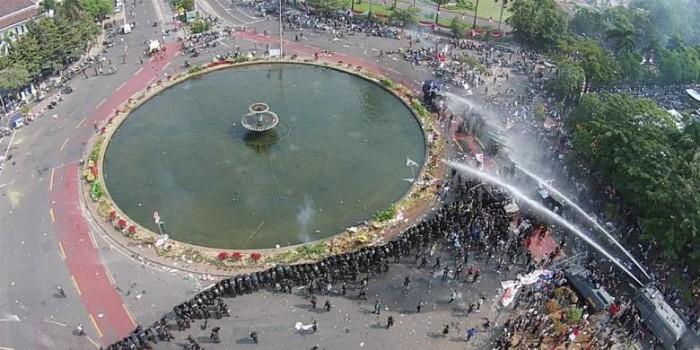 Mereka yang Terkesan Ikut Aksi Mendukung Prabowo...
