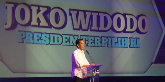 Jokowi: Relawan kalau Saya Minta Kumpul Sejuta Orang di Monas Harus Siap