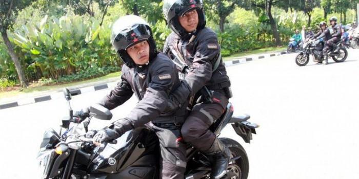 Ini Detail Yamaha FZ1 Pengawal Jokowi