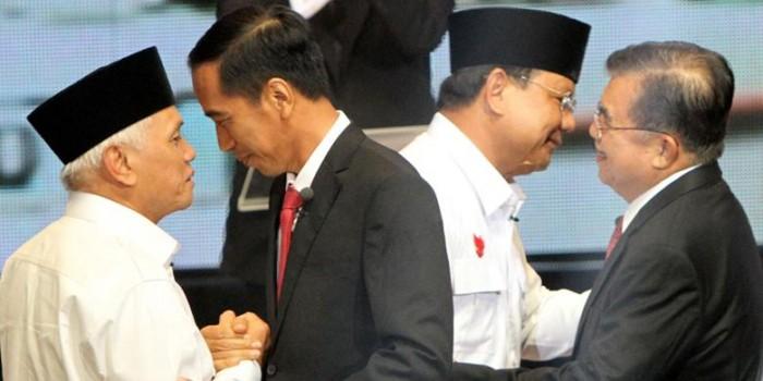 PAN: Bertemu Jokowi, Hatta Ucapkan Selamat