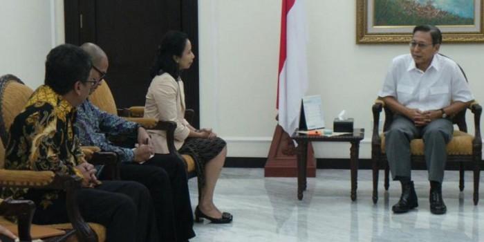 Wapres Boediono Beri Lima Arahan pada Tim Transisi Jokowi-JK